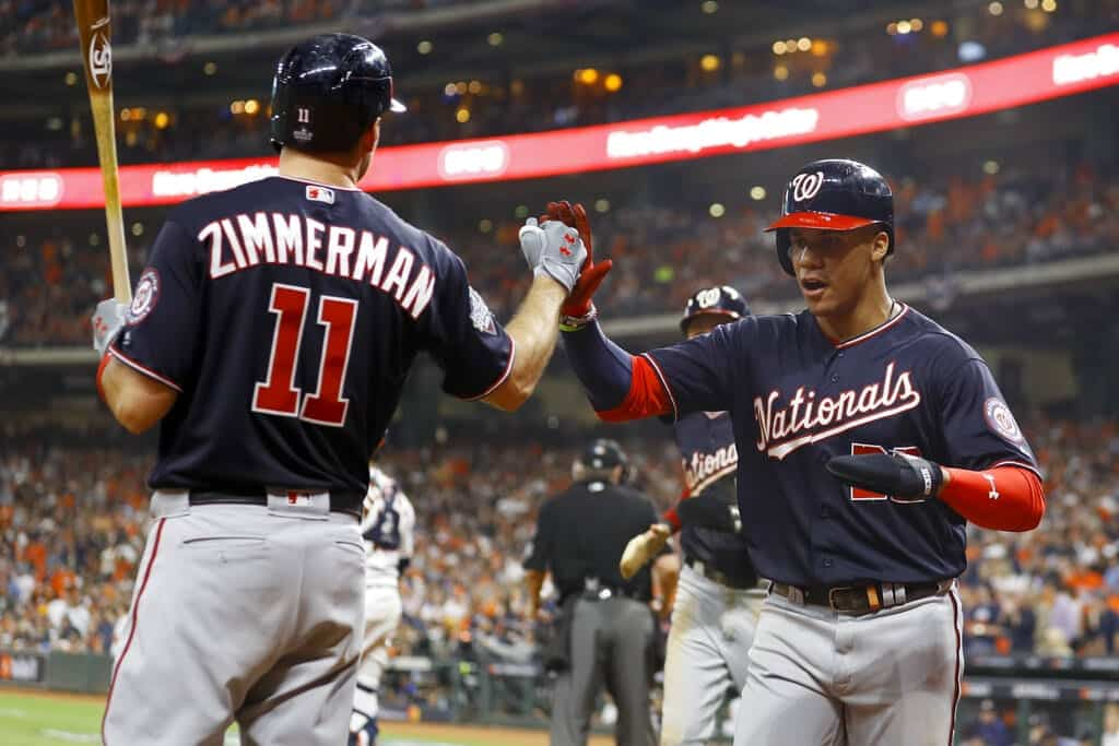 Nationals trituran a Astros de Houston en segundo juego de Serie Mundial