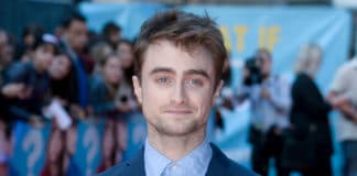 El actor Daniel Radcliffe asiste al estreno británico de WHAT IF el 12/08/2014 en ODEON West End, Leicester Square, Londres. Imagen, Grosby Group.
